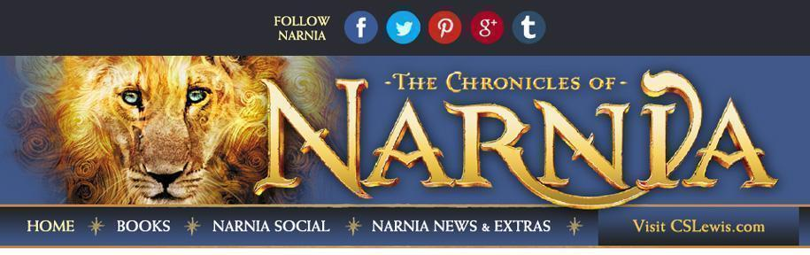 Narnia.com New Narnia website