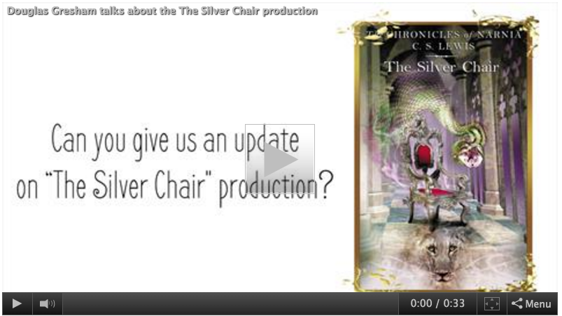 The Silver Chair Movie News Gresham talks about The