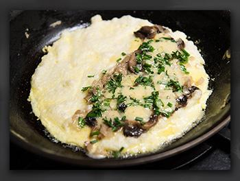 Narnia Recipes: English Omelette cook