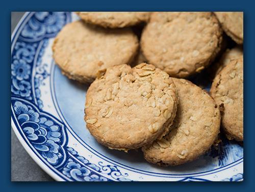 Narnia Recipes: Oatcakes serve