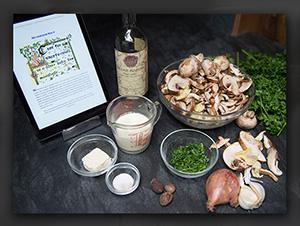Narnia Recipes: Mushroom Soup Ingredients