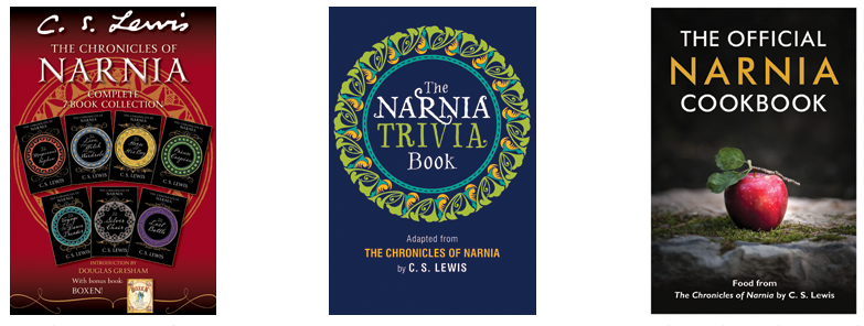 New Narnia ebooks