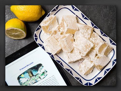 Narnia Recipes: Turkish Delight Serve