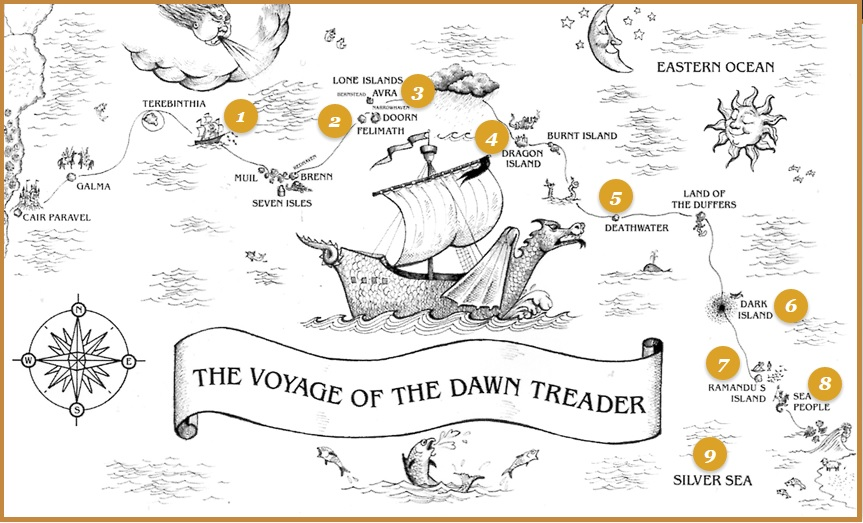 take the voyage of the dawn treader audio tour official site